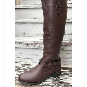 Rampage Idera Brown Tall Boots
